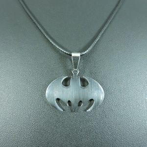 Other - Stainless Steel Batman Pendant Necklace